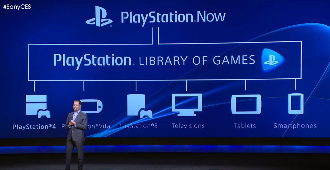 Sony představila PlayStation Now 91409