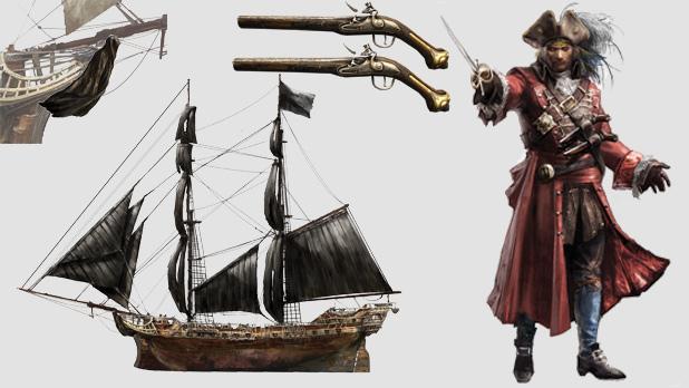 Assassin's Creed 4: Black Flag - Season Pass pod drobnohledem 91477