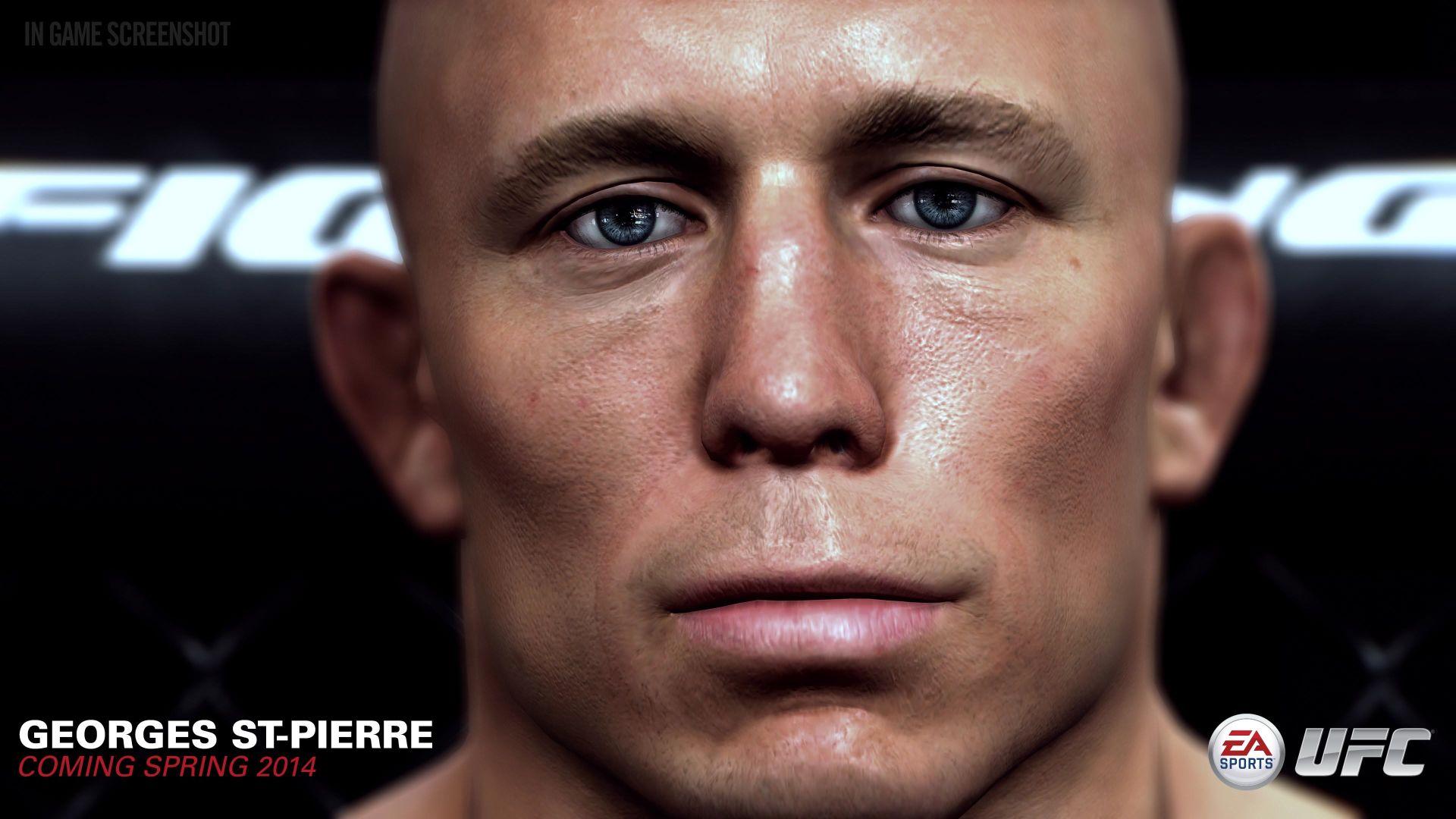 UFC od EA Sports s detailními obličeji bojovníků 91484