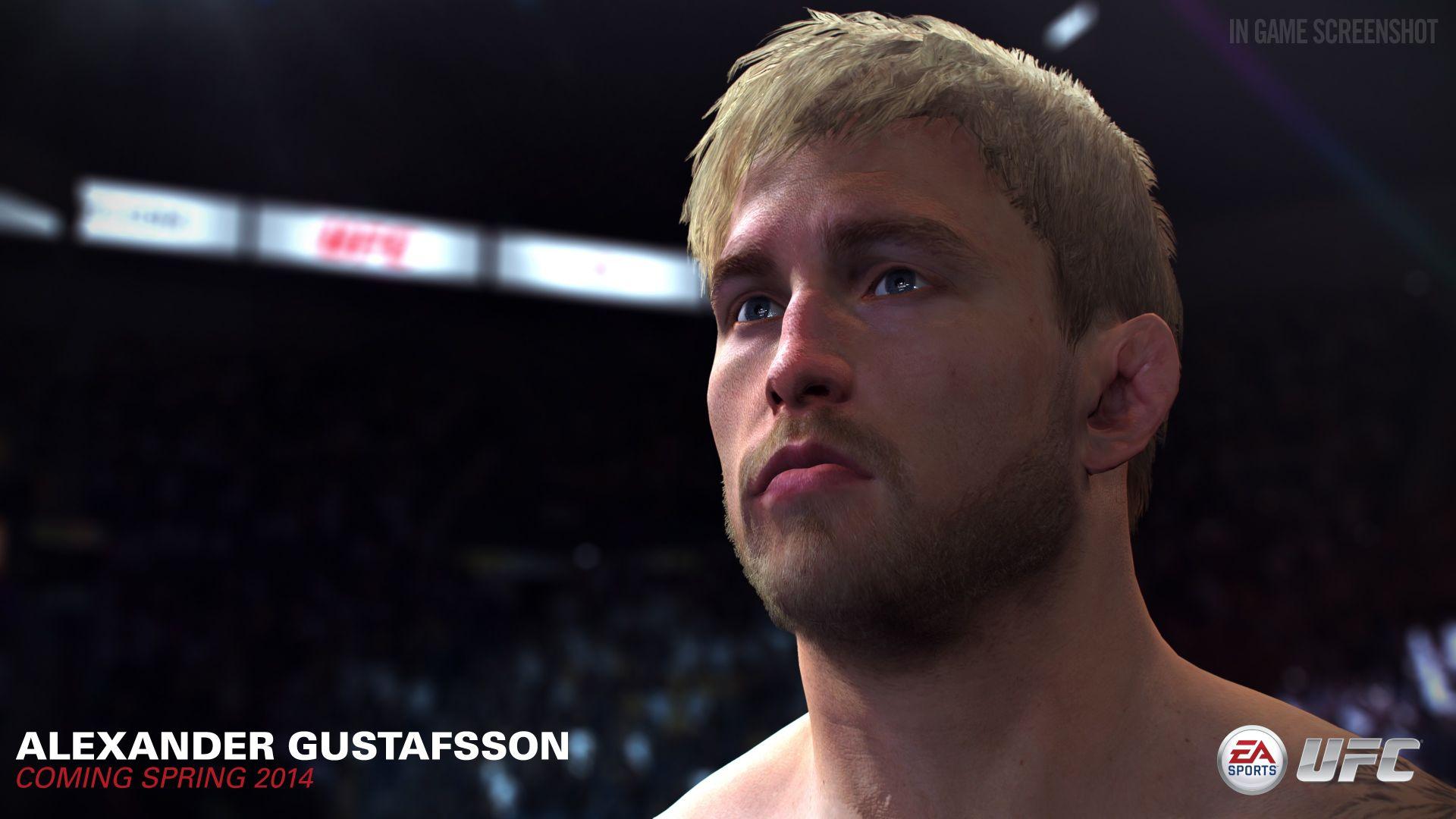 UFC od EA Sports s detailními obličeji bojovníků 91488