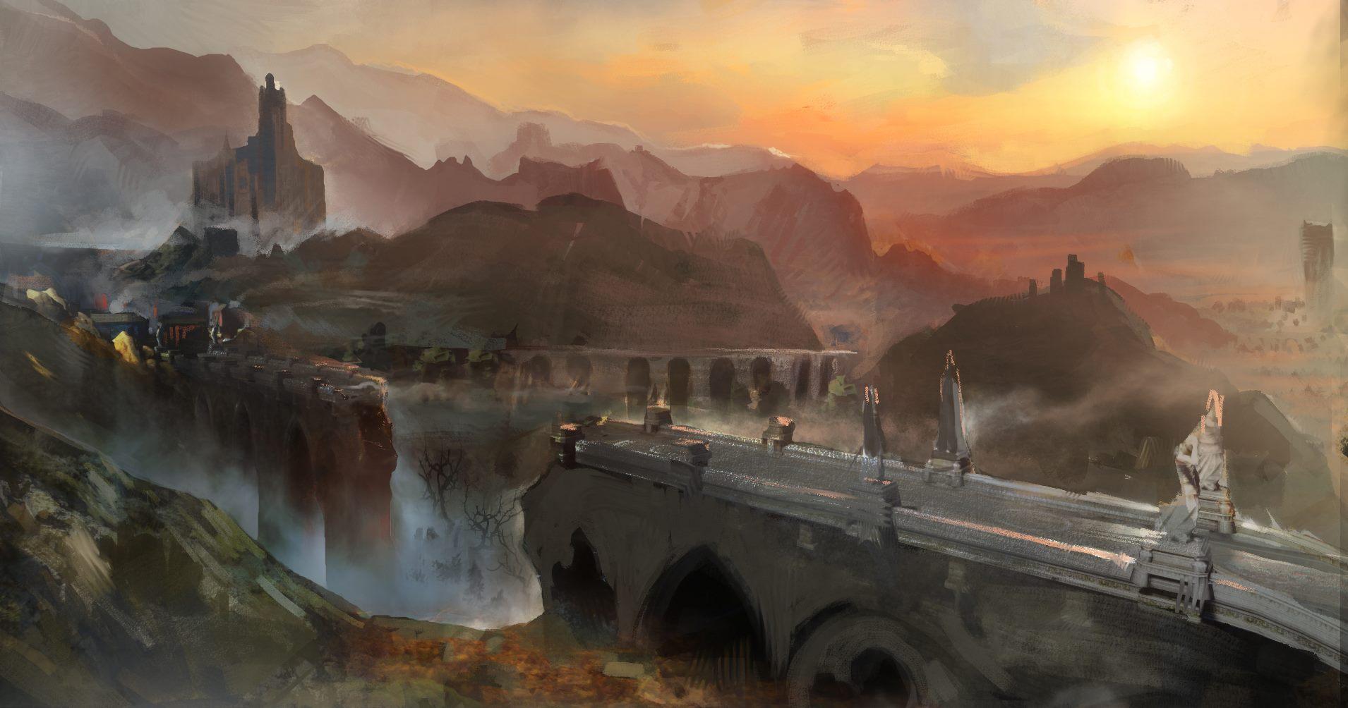 Rozmanitá krajina na artworcích z Dragon Age: Inquisition 91514