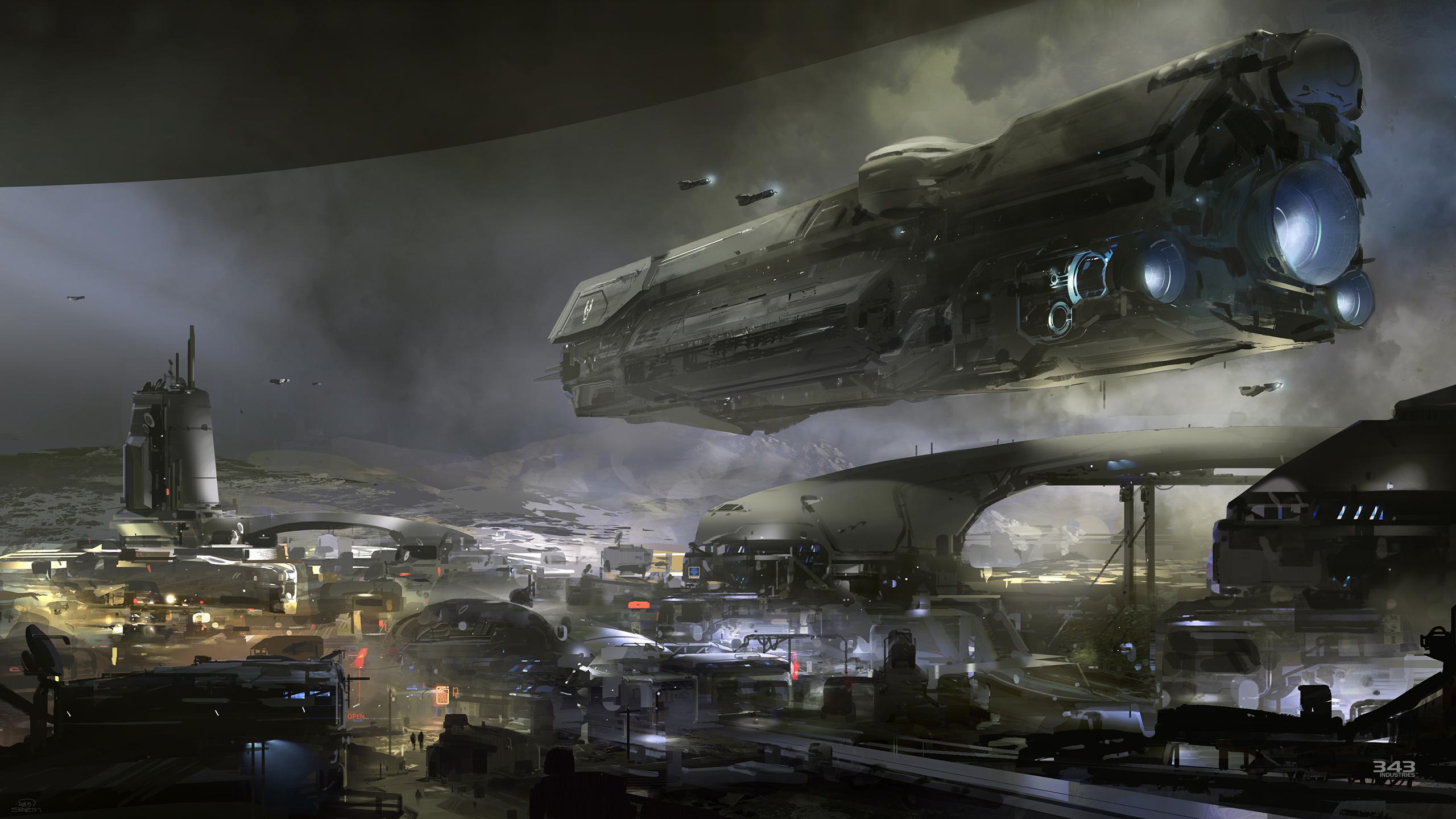 První artwork z nového Halo 91517