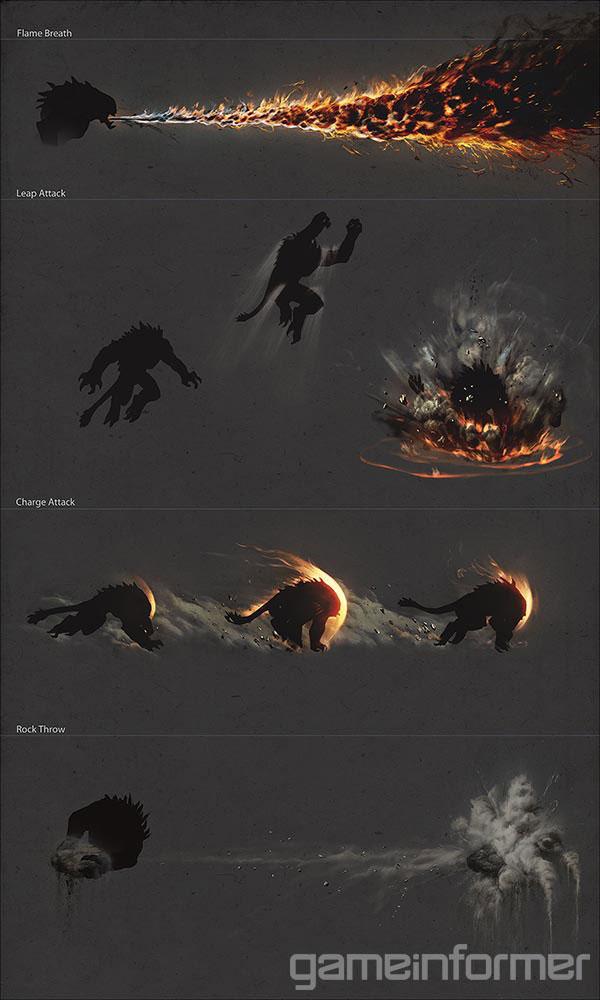 Goliáš na prvních obrázcích z Evolve 91528