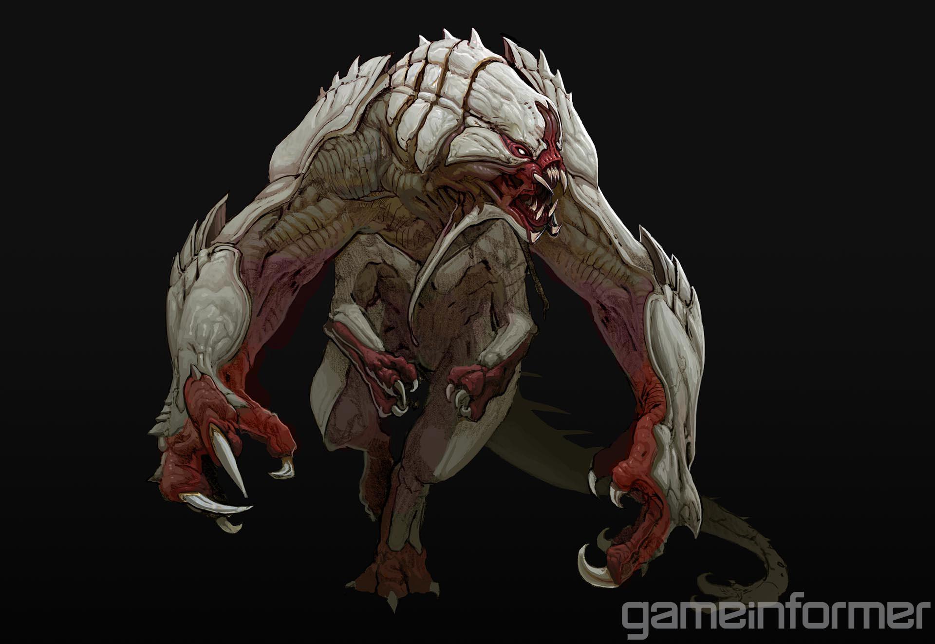 Goliáš na prvních obrázcích z Evolve 91529