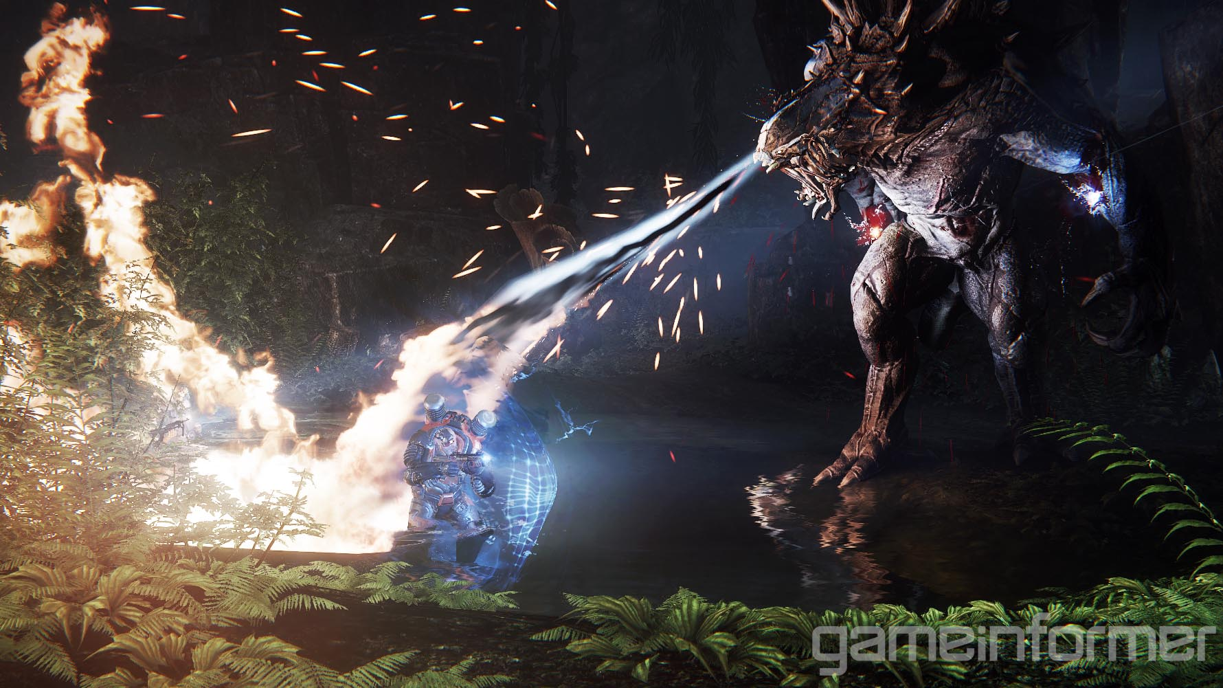 Goliáš na prvních obrázcích z Evolve 91530