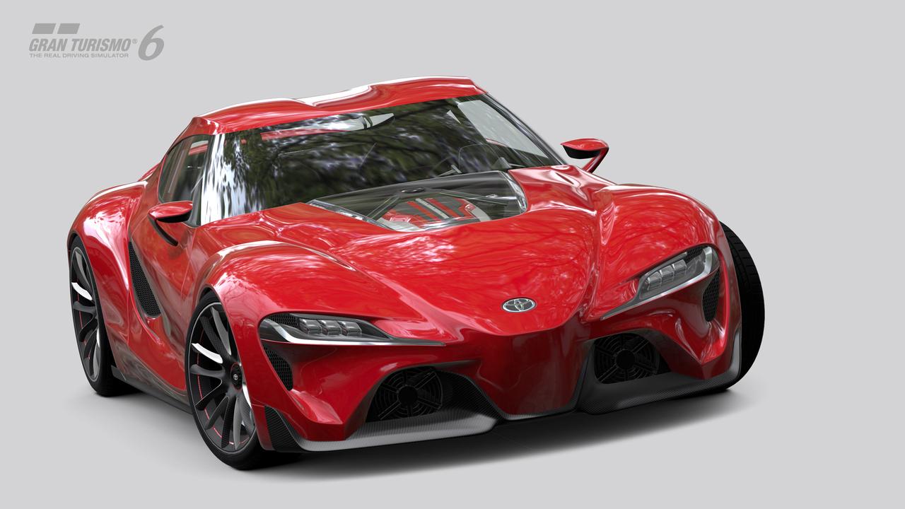 Obrazem: Koncept Toyota FT-1 v Gran Turismu 6 91595