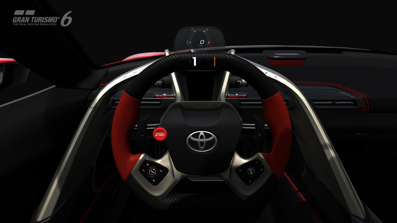 Obrazem: Koncept Toyota FT-1 v Gran Turismu 6 91600