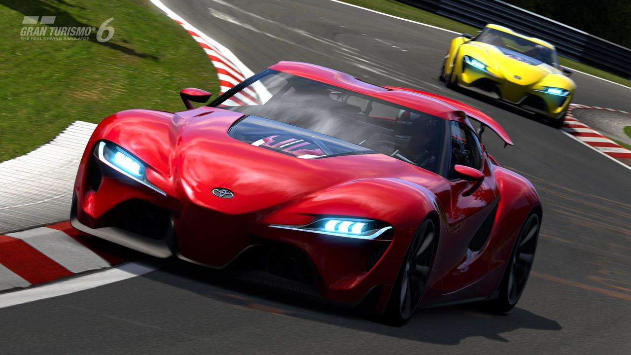 Obrazem: Koncept Toyota FT-1 v Gran Turismu 6 91608