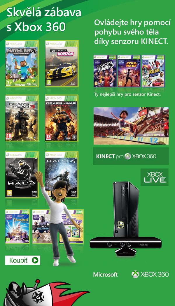 Hity na Xbox 360 za dvě až šest stovek 91612