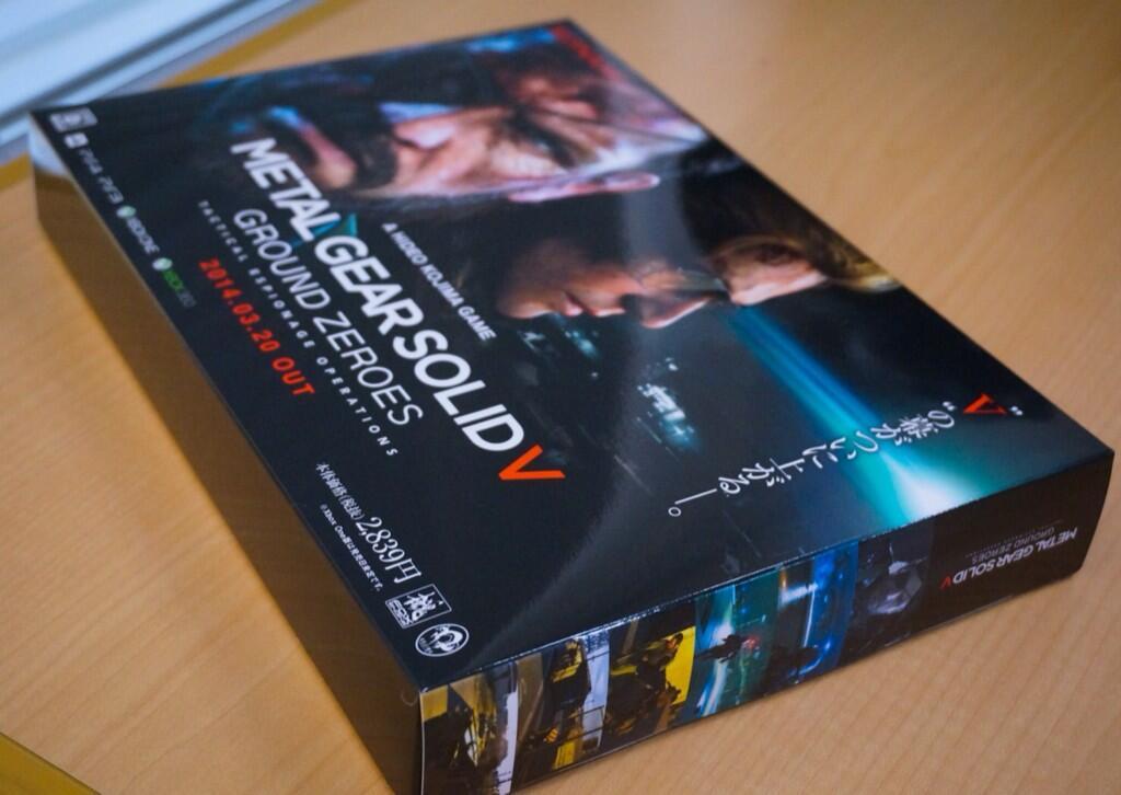 Kojima se nechal vyfotit při hraní Metal Gear Solid 5 na Vitě 91647