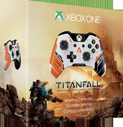 Limitovaná edice Xbox One gamepadu ve stylu Titanfall 91658