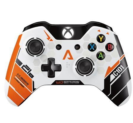 Limitovaná edice Xbox One gamepadu ve stylu Titanfall 91659