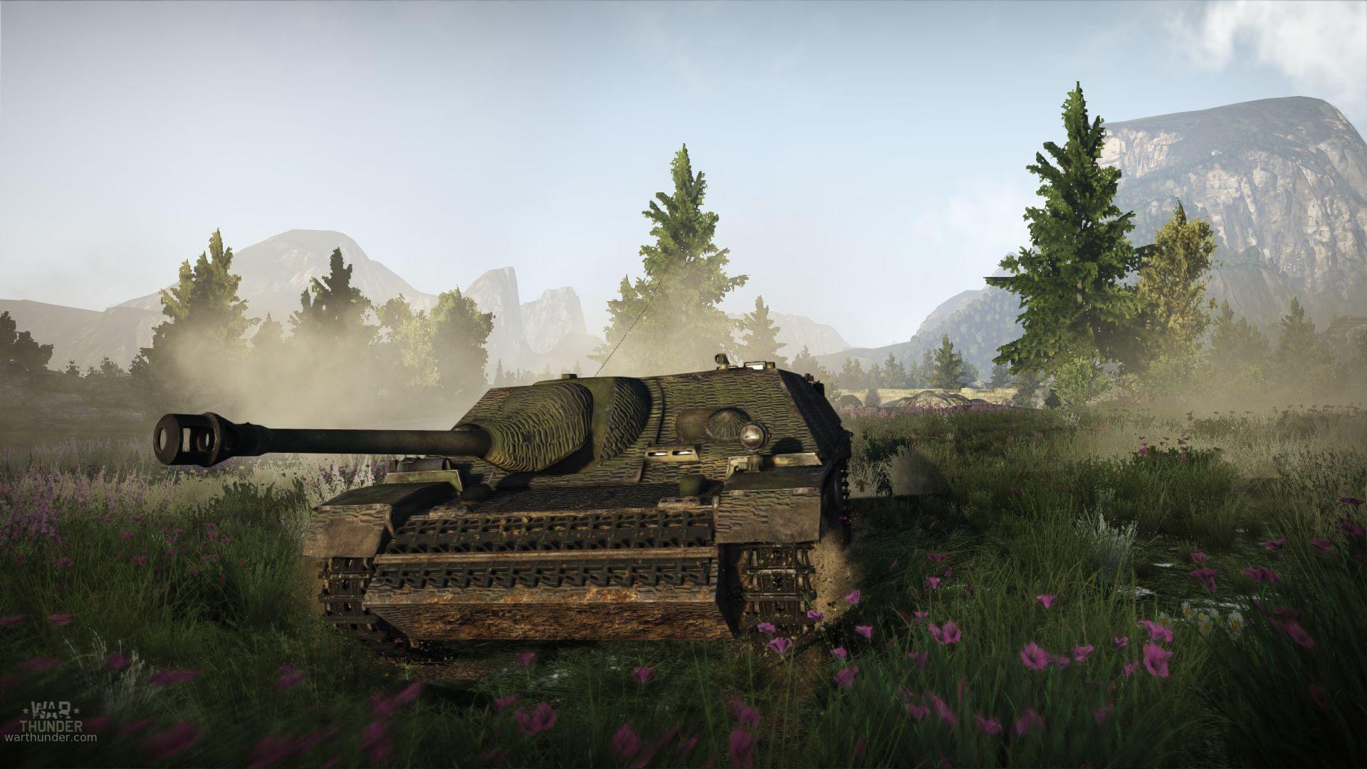 War Thunder přidalo nové tanky 91786