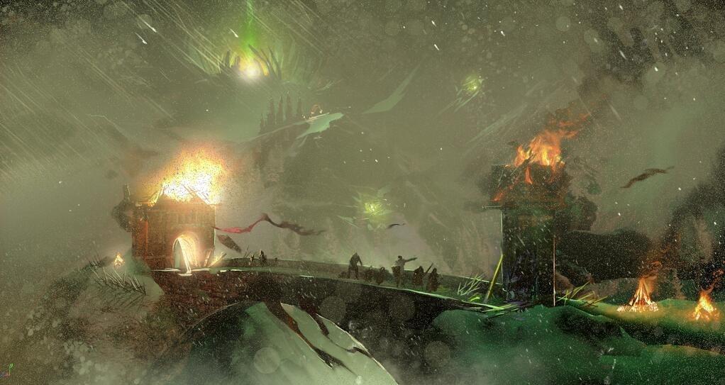Nákresy prostředí z Dragon Age: Inquisition 91821