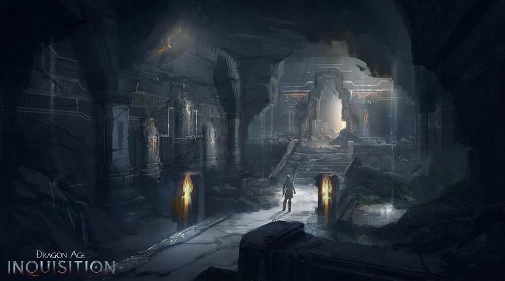Nákresy prostředí z Dragon Age: Inquisition 91822