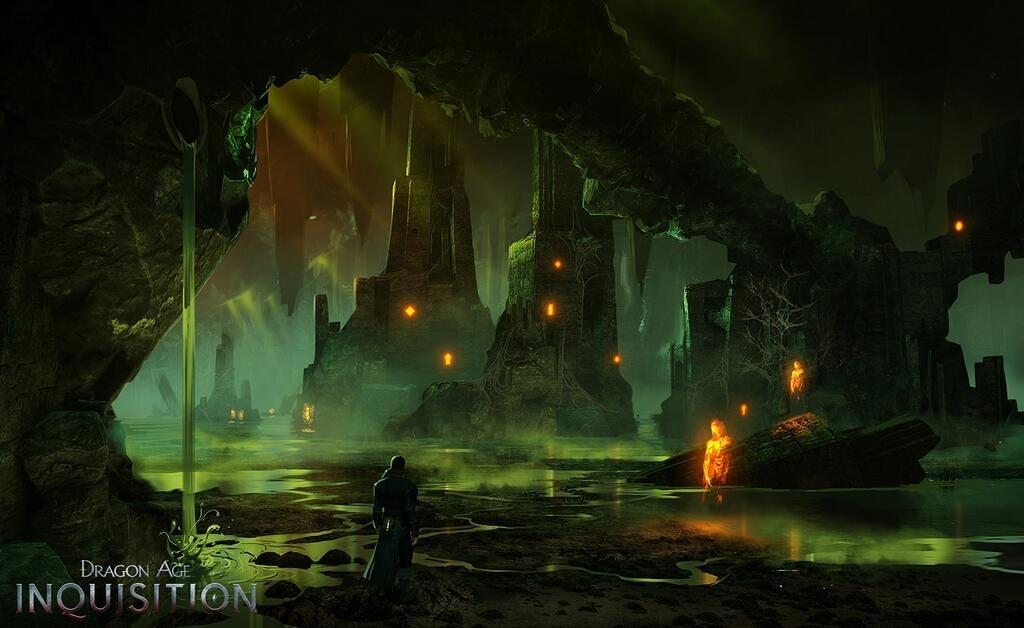 Nákresy prostředí z Dragon Age: Inquisition 91823