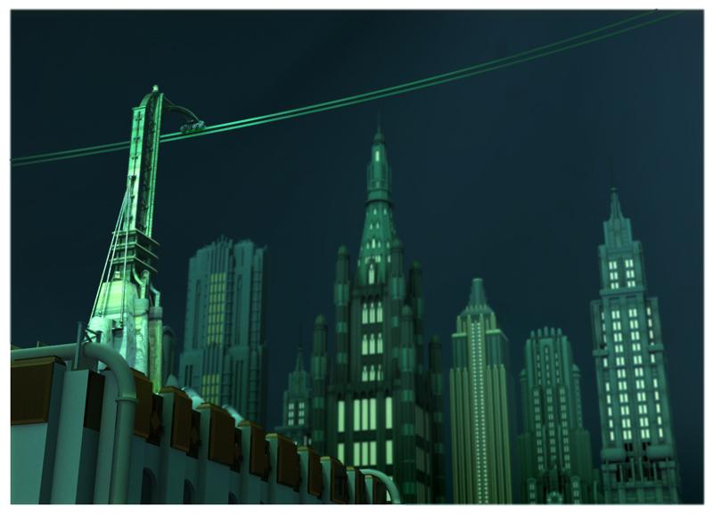 Artworky ze zrušeného filmového BioShocku 91830