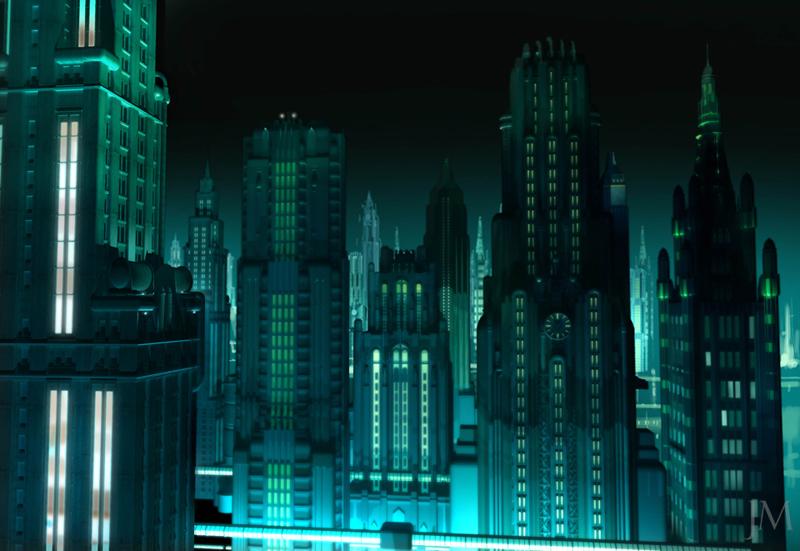 Artworky ze zrušeného filmového BioShocku 91832