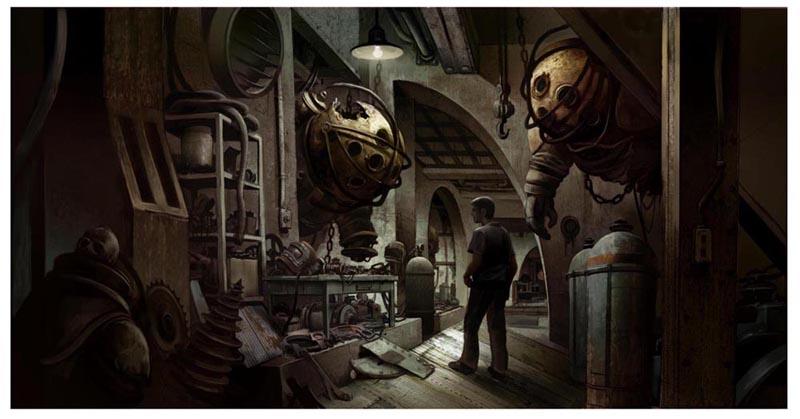 Artworky ze zrušeného filmového BioShocku 91835