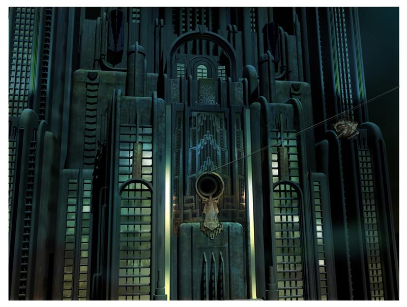 Artworky ze zrušeného filmového BioShocku 91836