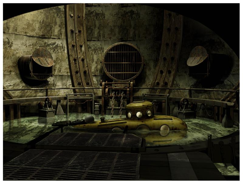 Artworky ze zrušeného filmového BioShocku 91840