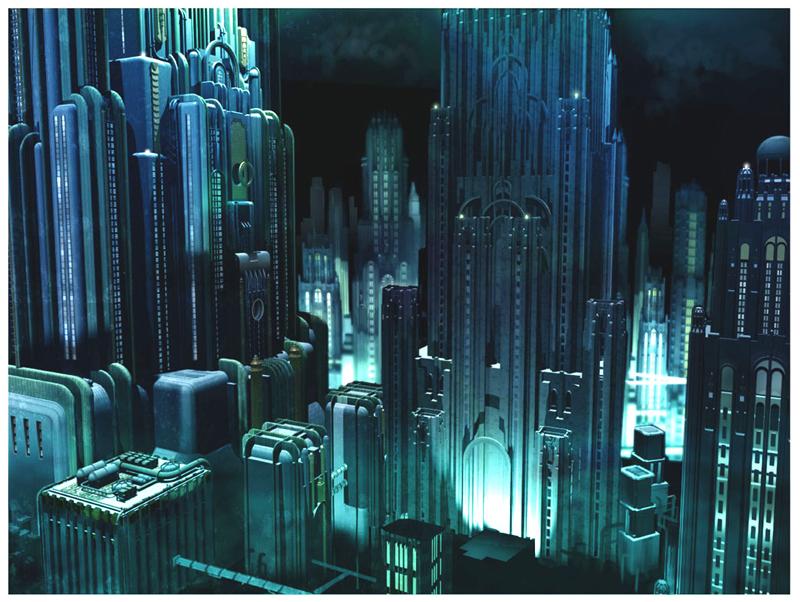 Artworky ze zrušeného filmového BioShocku 91841