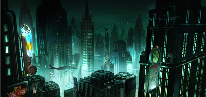Artworky ze zrušeného filmového BioShocku 91844