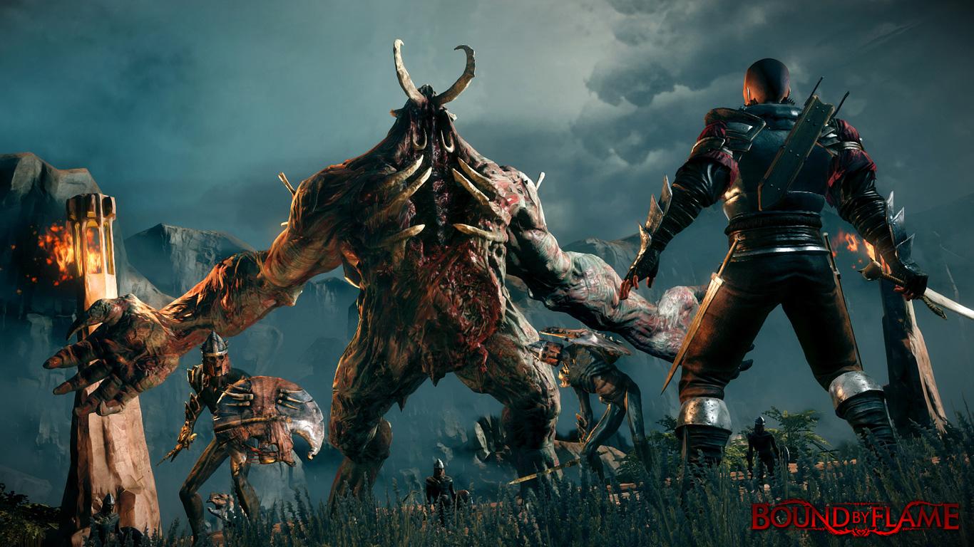 Obrazem: Boj s monstry v Bound by Flame 91874