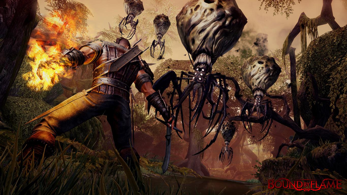 Obrazem: Boj s monstry v Bound by Flame 91876