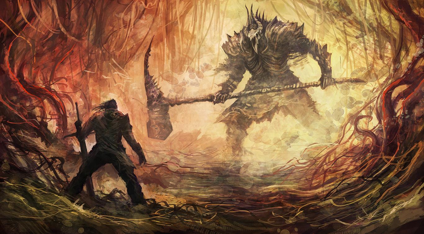 Obrazem: Boj s monstry v Bound by Flame 91881