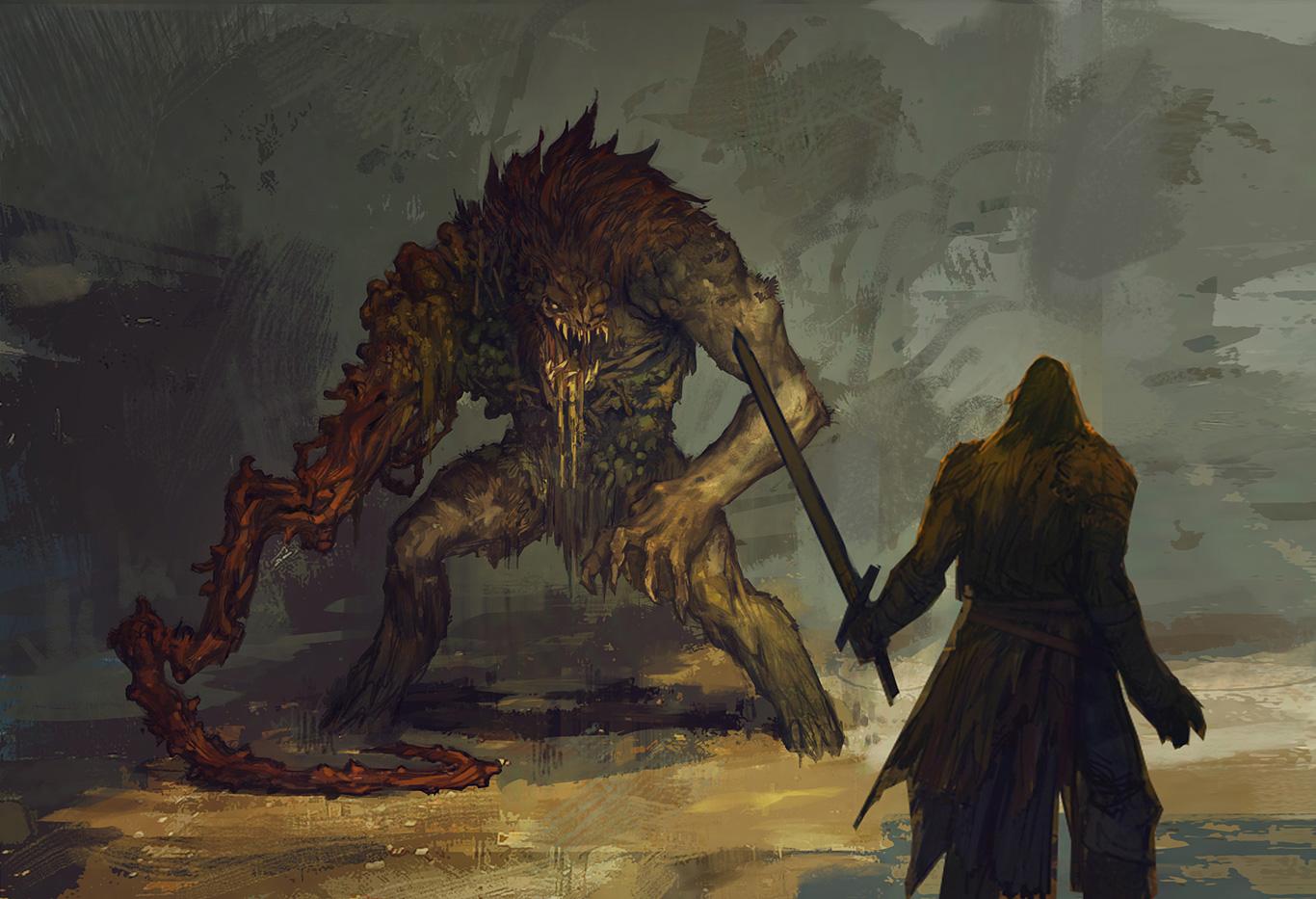 Obrazem: Boj s monstry v Bound by Flame 91882