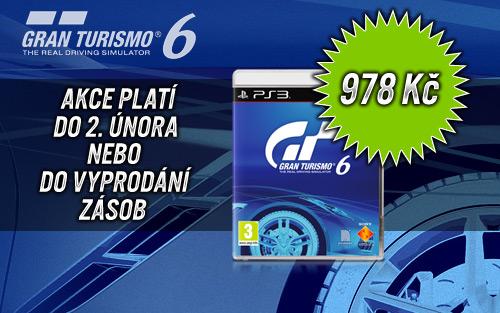 Gran Turismo 6 zlevněno, pořídíte za necelou tisícovku 92286