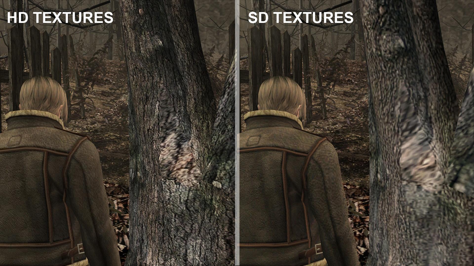 Porovnáváme HD a SD textury Resident Evil 4 92594