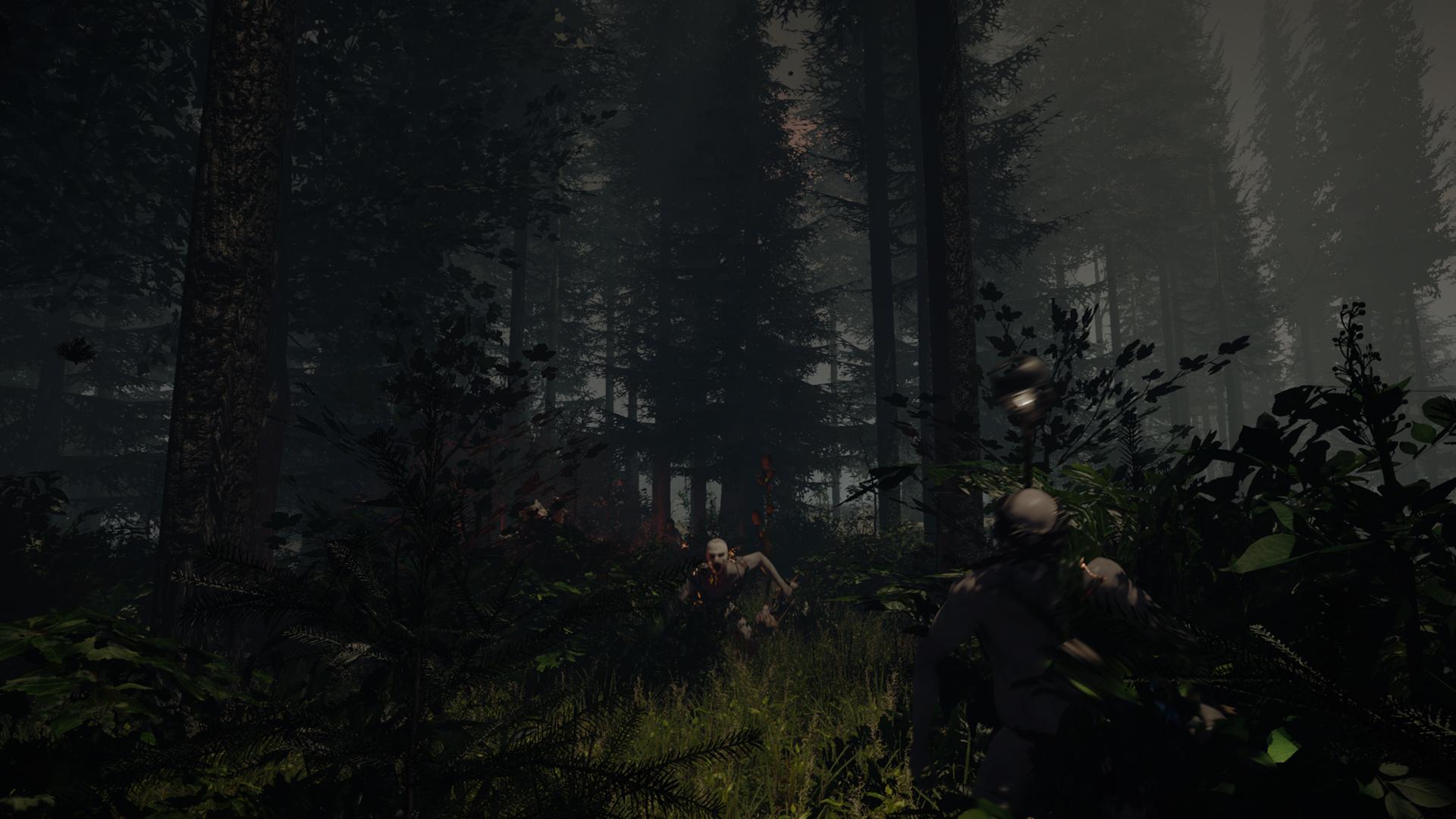 Temný les v hororovém The Forest 92606