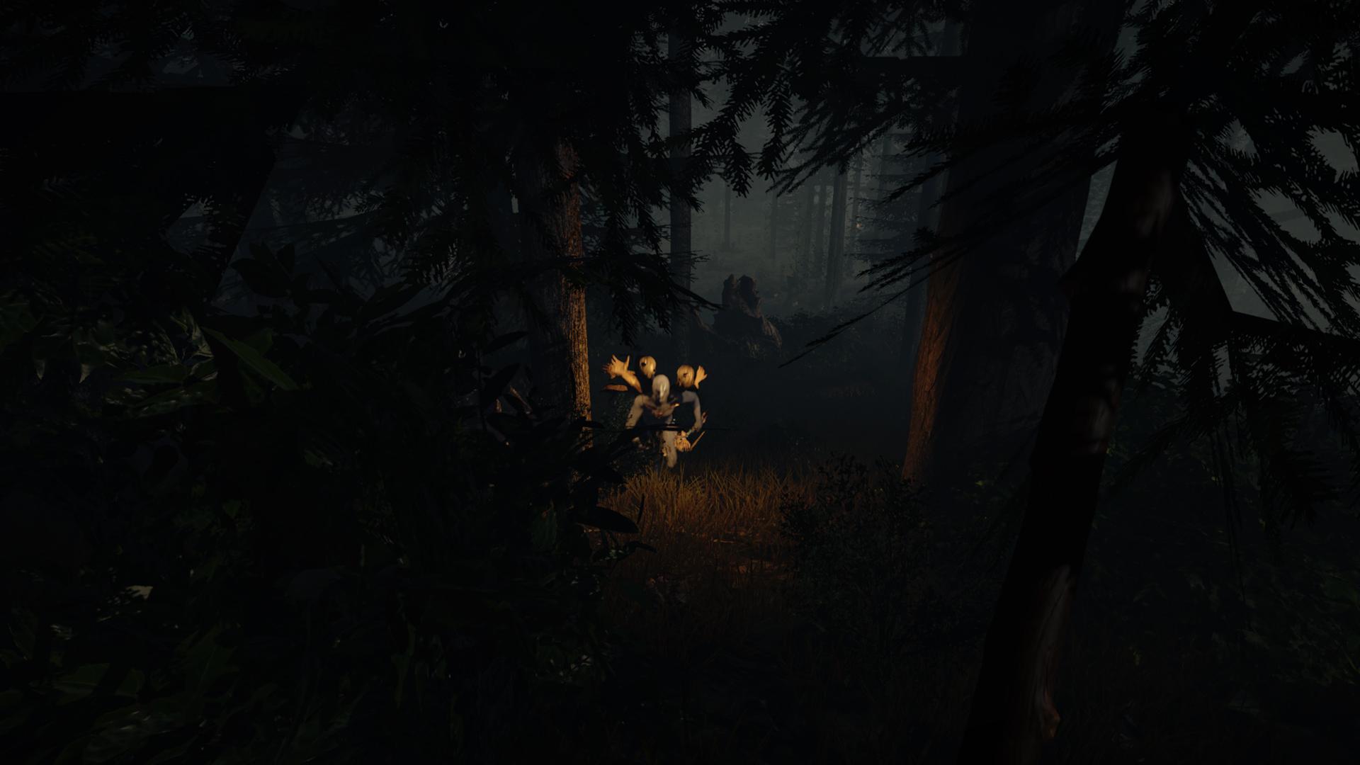 Temný les v hororovém The Forest 92608