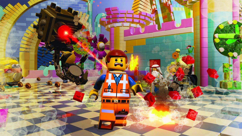Obrázky z LEGO Movie s akční atmosférou 92655