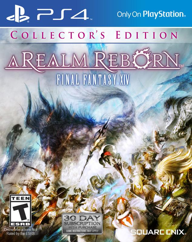 Sběratelská edice Final Fantasy XIV: A Realm Reborn 92665