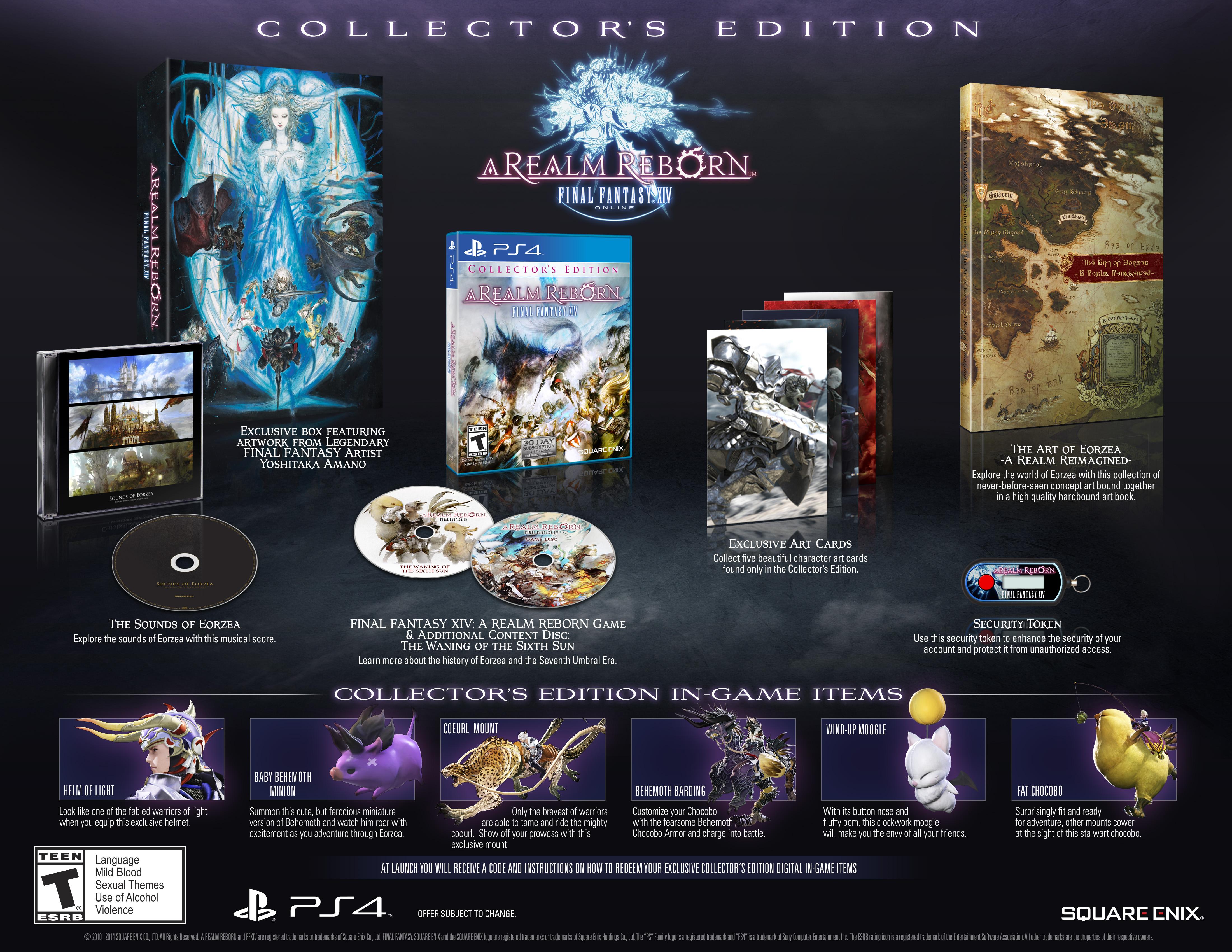 Sběratelská edice Final Fantasy XIV: A Realm Reborn 92666