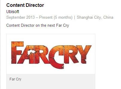 Na novém Far Cry se podílí tým ze Šanghaje 92669