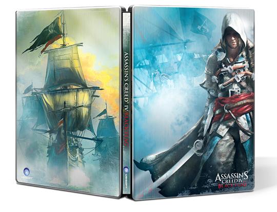 Assassin's Creed 4 u nás koupíte i se STEELBOOKEM 92671