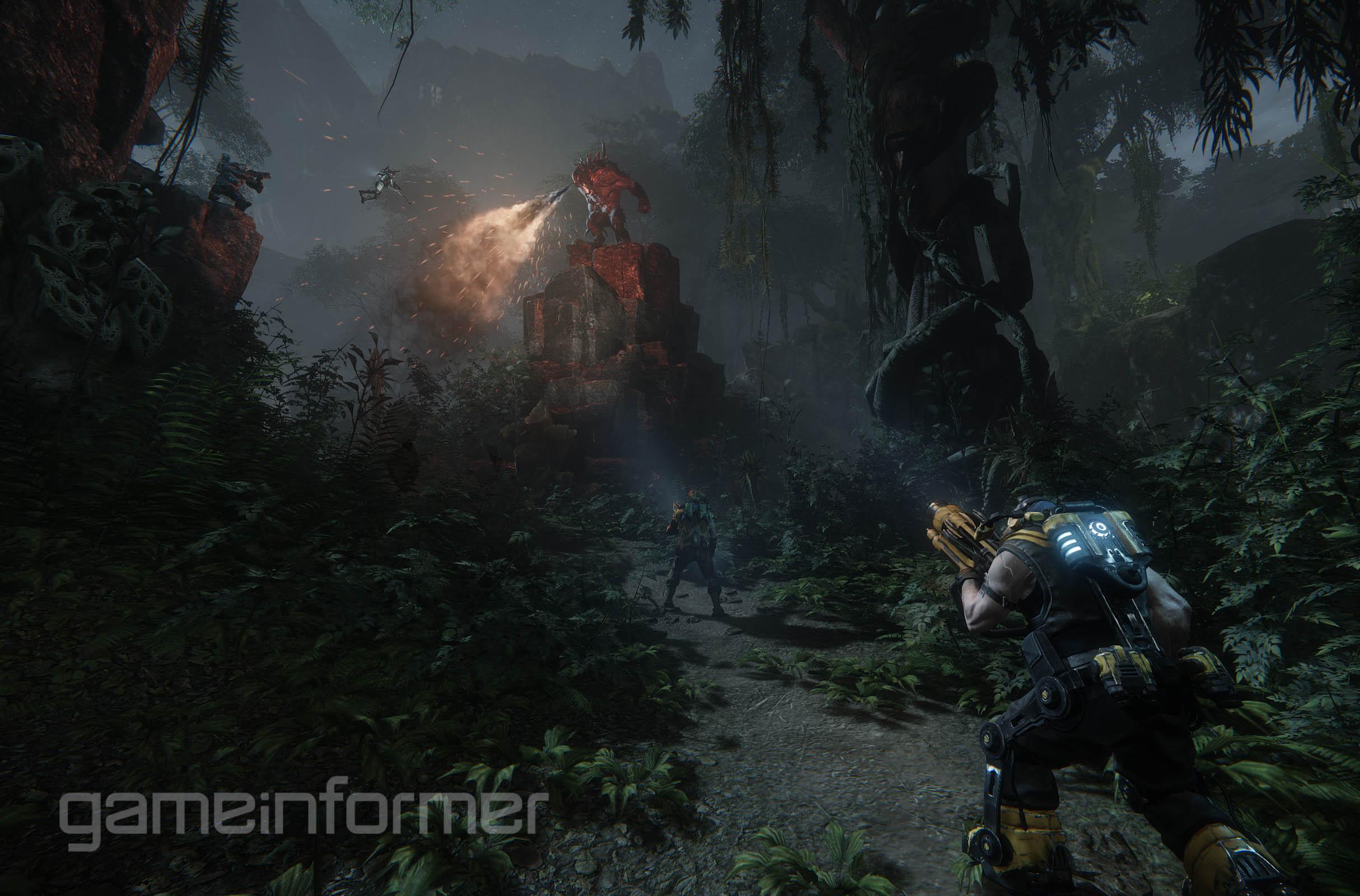Nové screenshoty z Evolve 92681