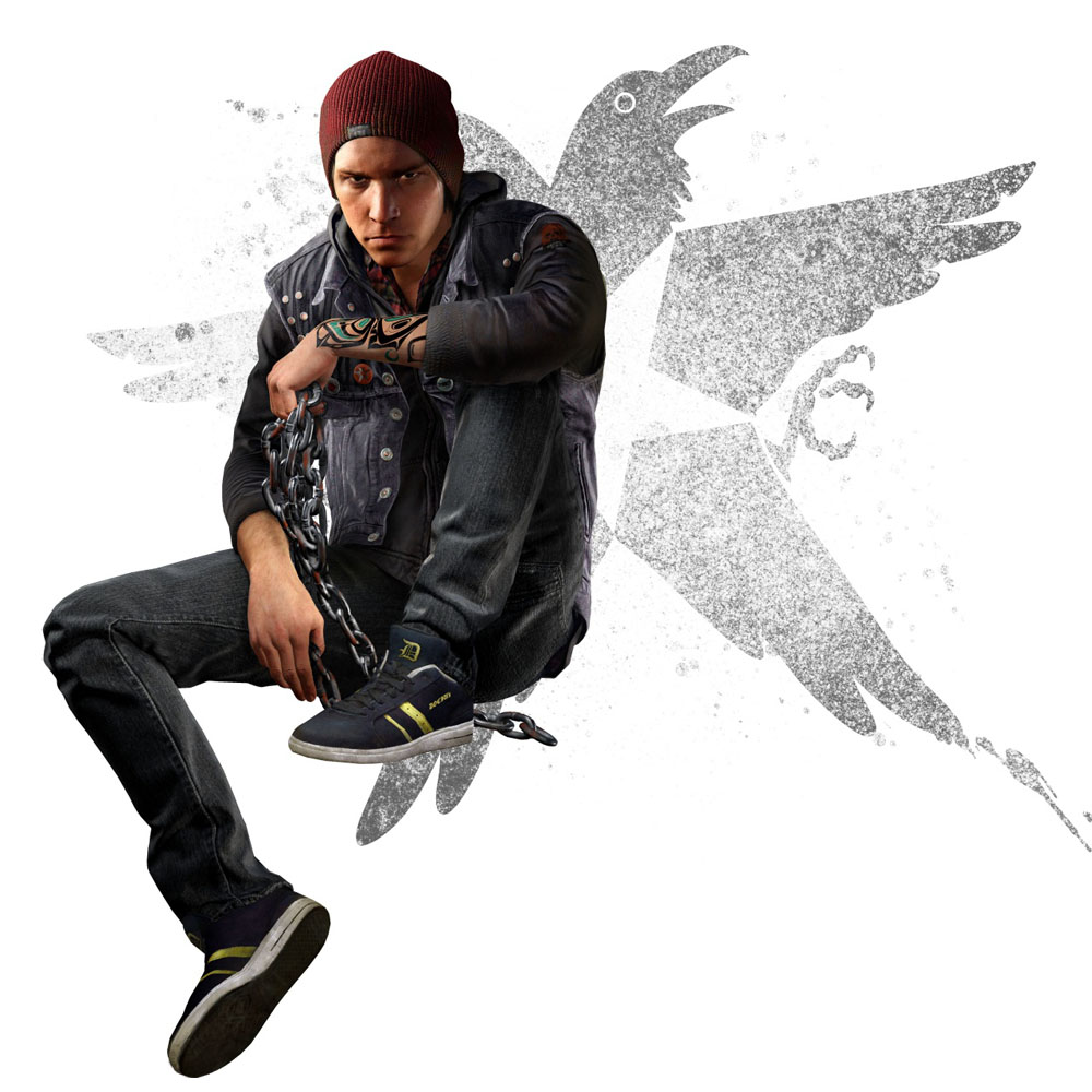 Artworky postav z inFamous: Second Son 93013