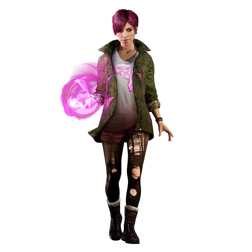Artworky postav z inFamous: Second Son 93015