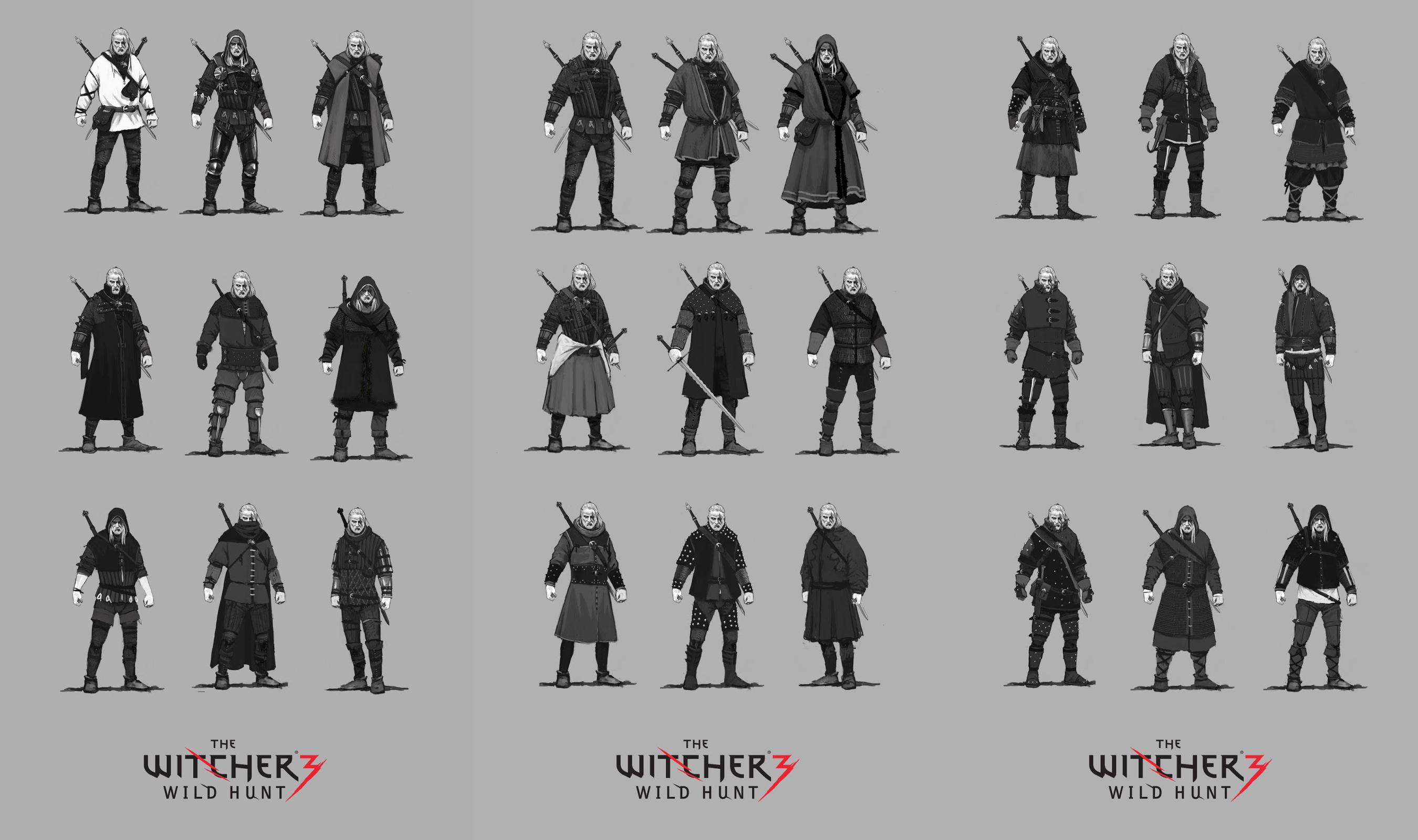 27 oblečků pro Geralta v Zaklínači 3 93074