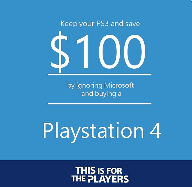 Dejte Microsoftu svou PS3 a získáte slevu na Xbox One 93089