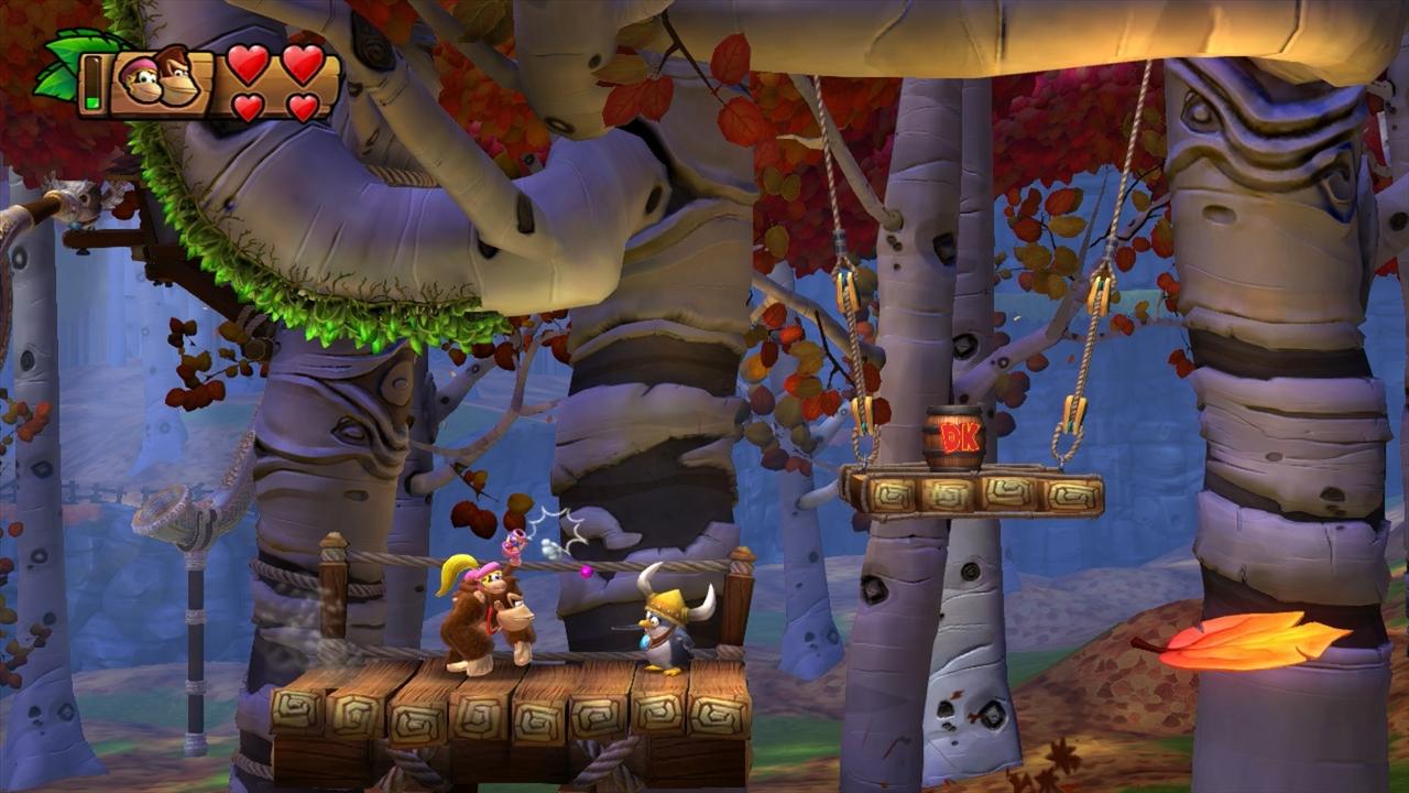 Donkey Kong Country: Tropical Freeze – ostrovní opičárny 93110
