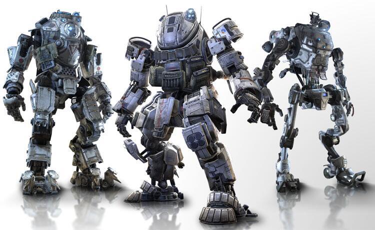 Při vydání Titanfall budou ve hře tři druhy mechů 93127