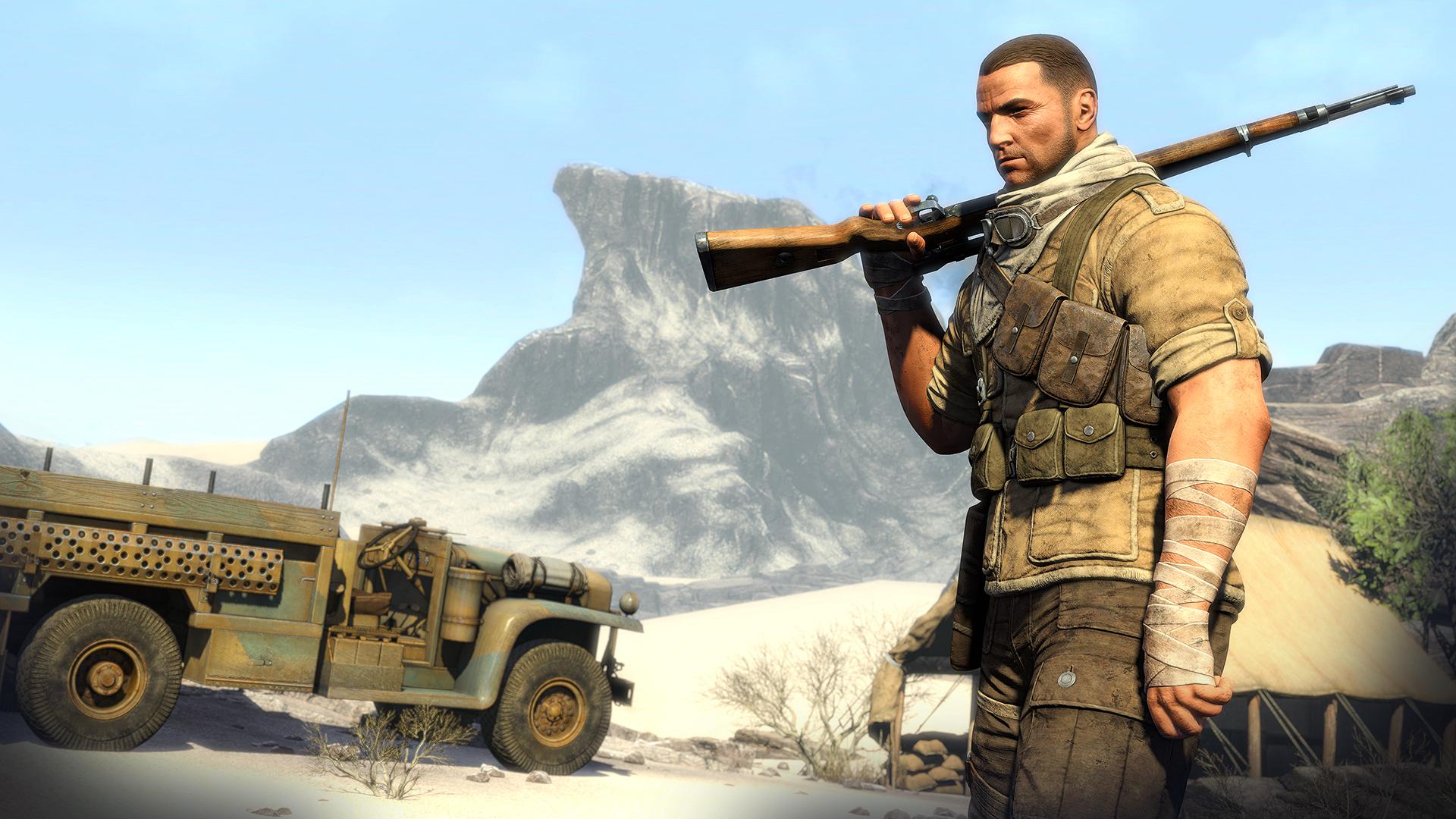 První gameplay záběry a obrázky ze Sniper Elite 3 93216