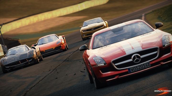 Slightly Mad Studios oznámilo online závody World of Speed 93297