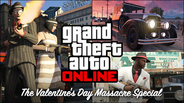 Na Valentýna zdarma nový obsah do GTA Online 93344